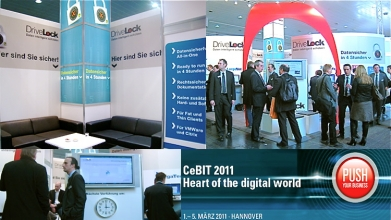 CenterTools DriveLock auf der CeBIT 2011